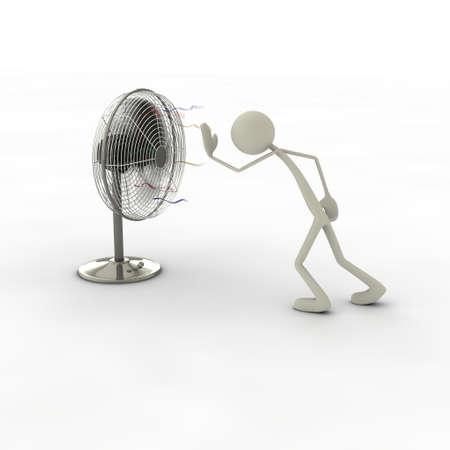 luft: Ventilator Stock Photo