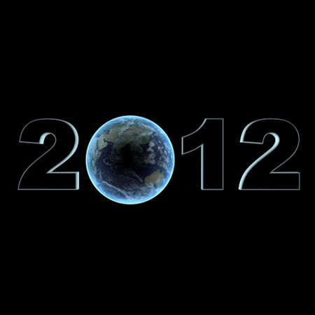 bmwa: a typography of 2012 with a terrestrial globe