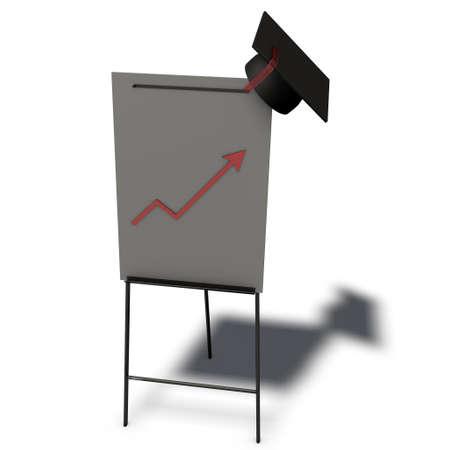 a pictogram to symbolize training film - flipchart photo