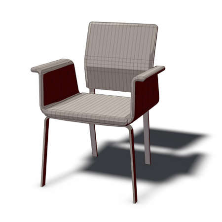 xiller: a chair to sit down and relax Stock Photo