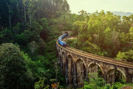 The Nine Arches Bridge is one of the most iconic bridges and beautiful sights of Sri Lanka