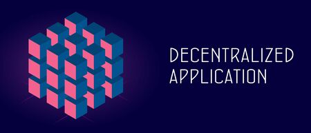 Decentralized Application Concept Dapps On Ethereum Blockchain Royalty Free Cliparts Vectors And Stock Illustration Image 140766482