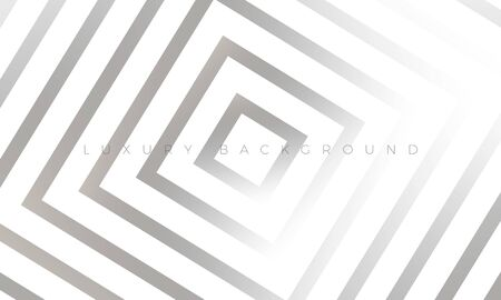 Modern silver grey background with stylish geometric elements. Premium Luxury light white-gray wallpaper and background illustration. Rich abstract design for header, website template, landing, banner