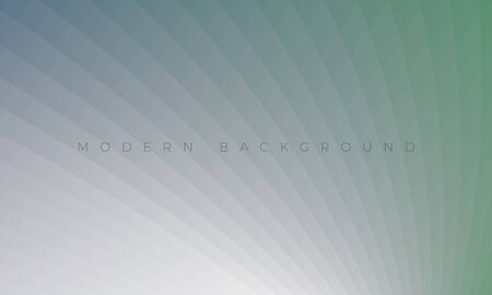 Modern silver mint background with stylish curved lines. Premium Luxury light white-gray wallpaper and background illustration. Rich abstract design for header, website template, landing, banner.
