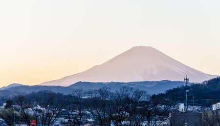 kanagawa: Mt fuji view at Hadano, Kanagawa in Japan.