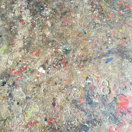 mess: Dirty paint mess floor background