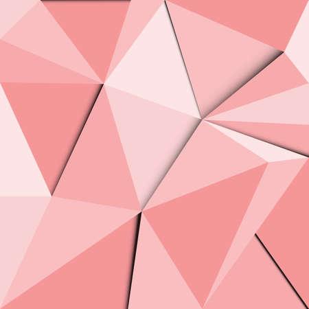 quartz crystal: Abstract Pastels polygonal background