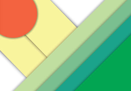 Abstract modern shape material design.