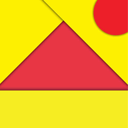 modern material: red and yellow modern material design vector background.Eps10 vector illustration.