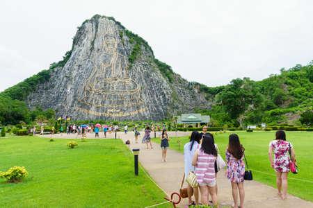 chonburi: Chonburi , Thailand - July 6, 2016: Khao Chee Chan Pattaya , Thailand