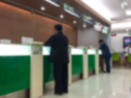 Abstract background of bank counter