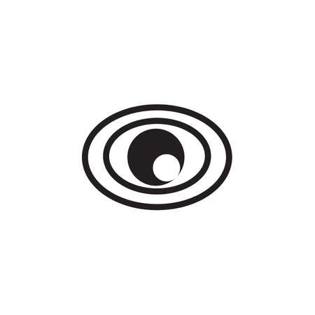 Eye icon vector EPS 10 .