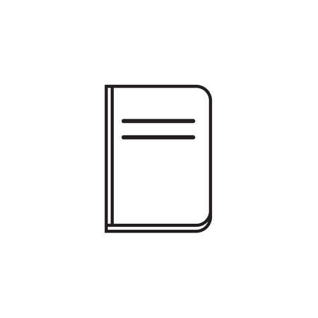 Book icon Vector illustration, EPS10.
