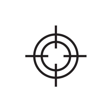 Target icon Vector EPS10 .  イラスト・ベクター素材