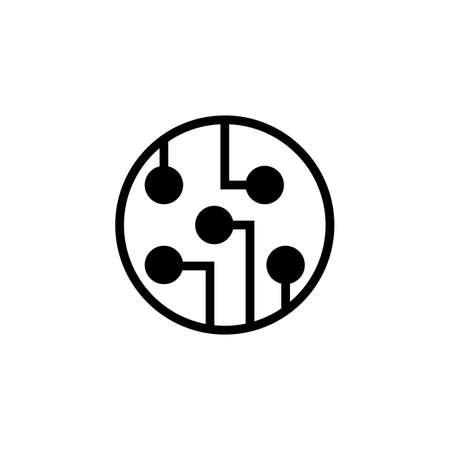 social network icon Vector illustration
