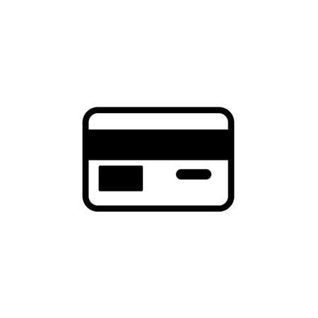 Credit card icon Vector illustration, EPS10.  イラスト・ベクター素材