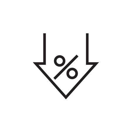 discount icon  Vector illustration, EPS10