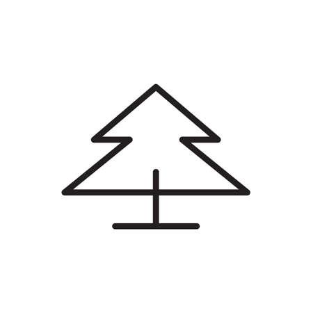 Tree icon Vector illustration, EPS10.  イラスト・ベクター素材