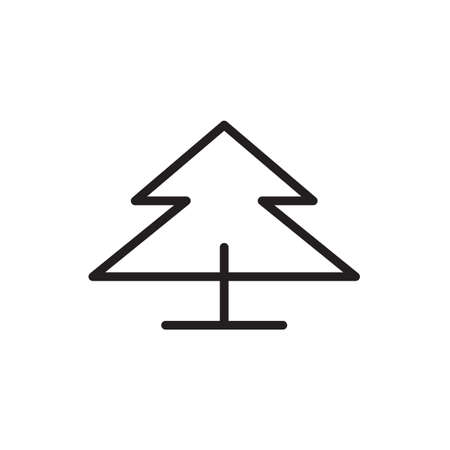 Tree icon Vector illustration, EPS10. Иллюстрация