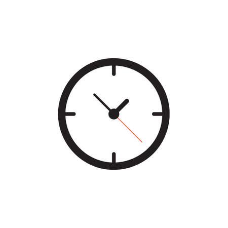 Clock icon Vector illustration, EPS10.