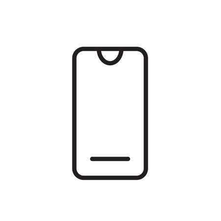 Mobile icon vector illustration EPS 10