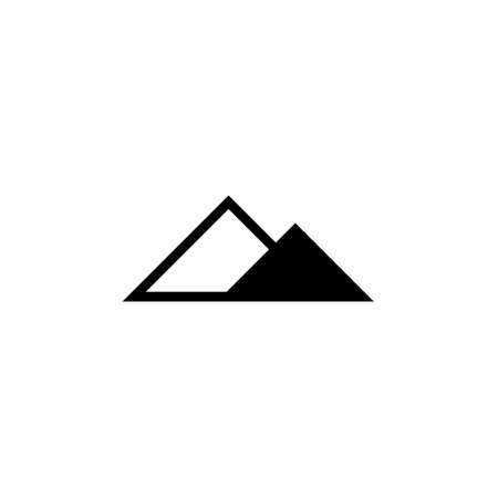 Mountain icon Vector illustration, EPS10.