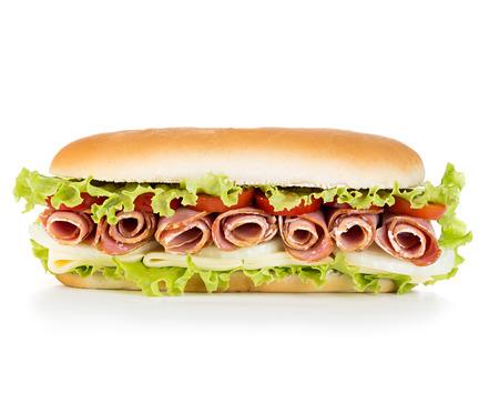 sandwich isolated Reklamní fotografie - 43899873