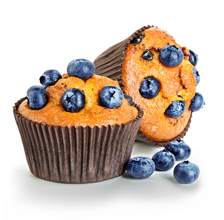 Muffins isolated Imagens - 43899947