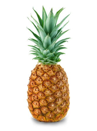 Ananas geïsoleerd Stockfoto - 44405455