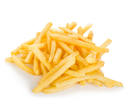 French fries isolated. Imagens - 45052425