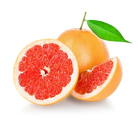 Grapefruits isolated on white background Reklamní fotografie - 45125029