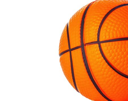 Orange basket ball close-up as a background.
