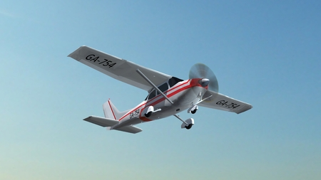 ever: most popular light aircraft ever with single propeller in fly
