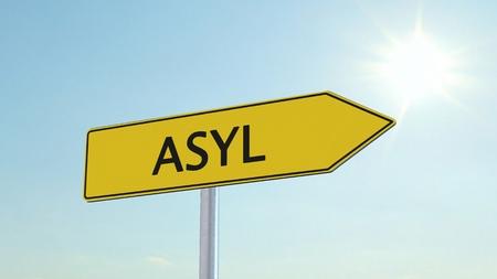 asylum: Asylum Signpost