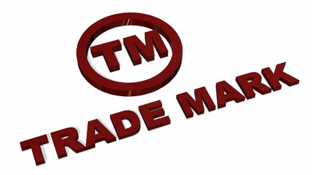 tm: TM - Trademark sign isolated on white background
