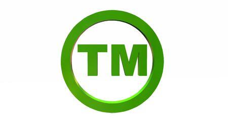 tm: TM - round Trademark sign on white backgroundv