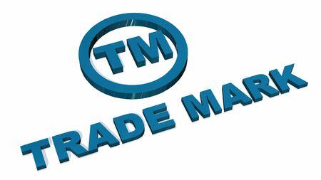 TM - Trademark sign isolated on white background
