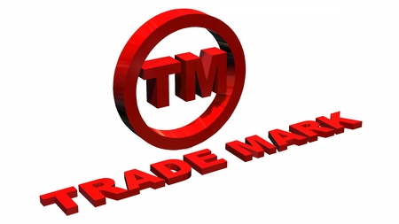 tm: TM - Trademark sign isolated on white background