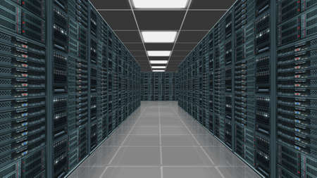 internet servers: Data server center