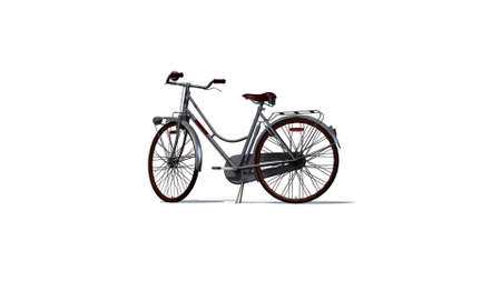 phonebox: bike  - separated on white background