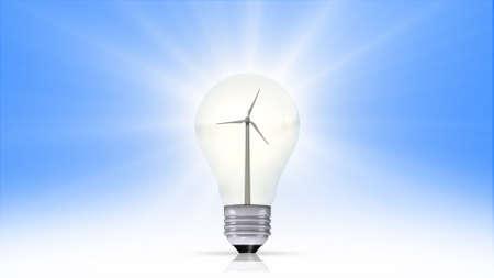 energy symbol: renewable energy concept, green energy symbol