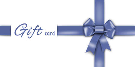 the loop: tarjeta de regalo, cinta azul, lazo azul, arco