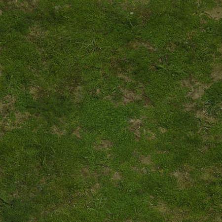 Dirt path grass - top view 스톡 콘텐츠