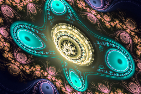 Fractal mathematic algorithm generated art picture illustration can illustrate universe 3D digital art galaxy universe illustration.