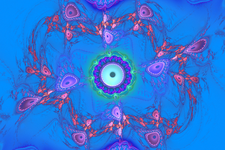 Fractal frequency space universe galaxy psychedelic music or for any other concept.