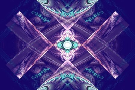 Beaufiful fractal hd wallpaper background blue shapes geometric pattern music waves explosion universe yolo.