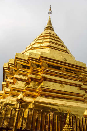 holiest: Wat Phra That Doi Suthep, the holiest shrine in northern Thailand.