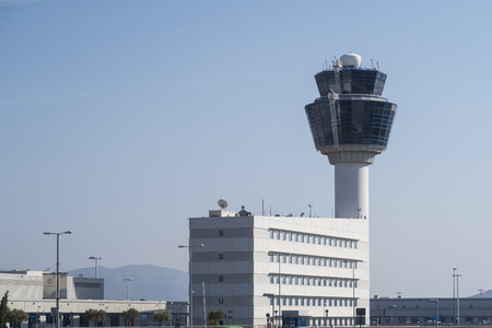 atc: Athens Airport Traffic Control Tower (ATC). Athens International Airport Eleftherios Venizelos is the 30th busiest airport in Europe.
