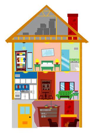 My Home Vector
