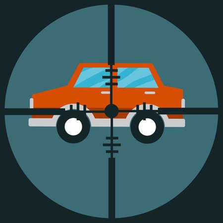 targeted: Target car